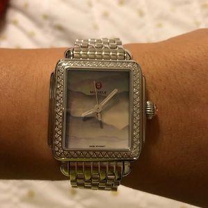 💕Michele Deco MOB & Diamond watch 💕